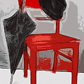 Red Chair by Manfred Lutzius