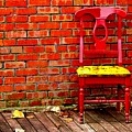 Red Chair  by Penny Haviland