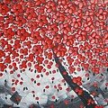 Red Cherry Tree by Ilonka Walter