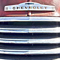 Red Chevrolet Grill by Bamalam  Photography