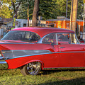 Red Chevy  by Jackie Eatinger