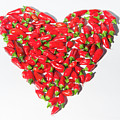 Red Chillie Heart II by Helen Northcott