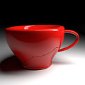 Red Coffee Cup by Andreas Berheide