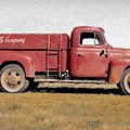 Red Coke Truck by Anthony Djordjevic