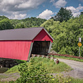 Red Covered Bridge by Robert Mitchell