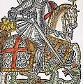 Red Cross Knight, 1598 by Granger