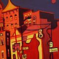 Red Cruising Baltimore by Debra Bretton Robinson