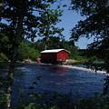 Red Dam In Summer #2 by Dorothea Abbott