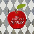 Red Delicious Apples by Priscilla Wolfe