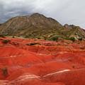 Red Desert Landscape Torotoro National Park Bolivia by James Brunker