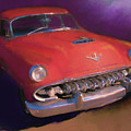 Red Desoto Coupe by David King