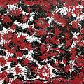 Red Devil U - Original by Keith Elliott