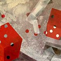 Red Dice by Evguenia Men
