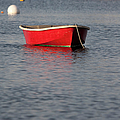 Red Dingy - Rye Harbor New Hampshire Usa by Erin Paul Donovan