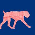 Red Dog Tee by Edward Fielding