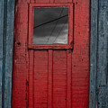 Red Door by Edgar Laureano