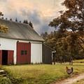 Red Door Farm by Robin-Lee Vieira