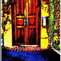 Red Door by Lauren Hatfield