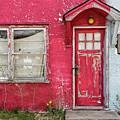 Red Door by Patti Schulze
