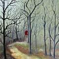 Red Door by Outside the door By Patt