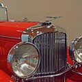 Red Duesenberg Beauty by Patricia Strand