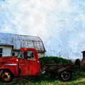 Red Farm Truck by Bill Cannon