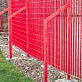 Red Fence by Tom Gowanlock