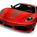 Red Ferrari F430 Scuderia by Oleksiy Maksymenko