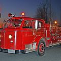 Red Firetruck by Matthew Adair