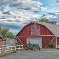 Red Flag Barn by Robin Mayoff