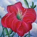 Red Flower Dreams by Randy Burns