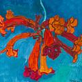 Red Flowers by Vitali Komarov