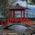 Red Foot Bridge by Pamela Walton