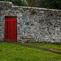 Red Gate At Coole Park Estate by James Truett