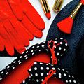 Red Gloves And Shoes by Garry Gay