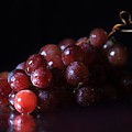 Red Grapes by Angela Murdock