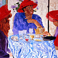 Red Hatters Chatter by Jean Blackmer