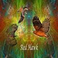 Red Hawk Moon by Rich Baker