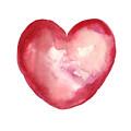Red Heart Valentine's Day Gift by Joanna Szmerdt