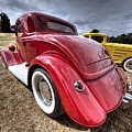 Red Hot Rod - 1930s Ford Coupe by Gill Billington