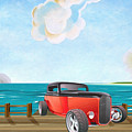 Red Hot Rod by L Wright