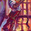 Red Hot Trumpet by Saundra Bolen Samuel