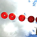 Red Lanterns In Chinatown by Caroline Reyes-Loughrey