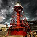 Red Lighthouse by Wayne Sherriff