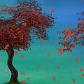 Red Maples by Elle Arden Walby