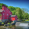 Red Mill Of Clinton New Jersey by Priscilla Burgers