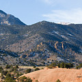 Red Mountain And Pikes Peak by Steve Krull