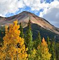 Red Mountain Fall Colors by Ray Mathis