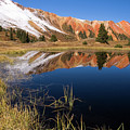Red Mountain Reflection by Steve Stuller