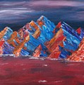Red Mountains by Kim Nelson